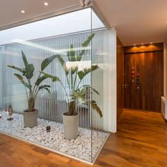 Jardines de invierno de estilo moderno por VISMARACORSI ARQUITECTOS