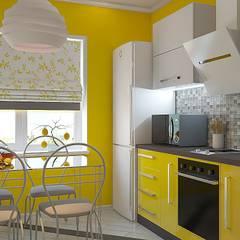 Кухня: Кухни в translation missing: ru.style.Кухни.modern. Автор - Дизайн студия Жанны Ращупкиной