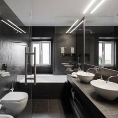 Apartamento São Caetano: Casas de banho minimalistas por Vanessa Santos Silva   Arquiteta
