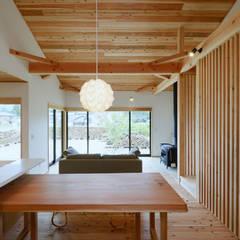 平井の家: 株式会社kotoriが手掛けたtranslation missing: jp.style.ダイニング.modernダイニングです。