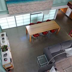 Dining area: modern Dining room by Ecosa Institute
