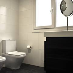Casa prefabricada Cube  75 m2 - Baño: Baños de estilo moderno de Casas Cube