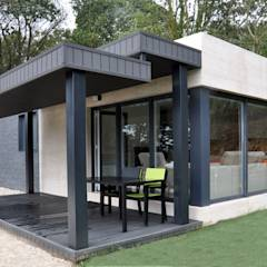 Casa prefabricada Cube  75 m2 - Porche: Casas de estilo moderno de Casas Cube