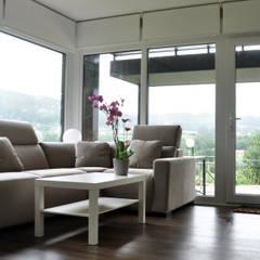 Casa prefabricada Cube  75 m2 - Salón: Salones de estilo moderno de Casas Cube