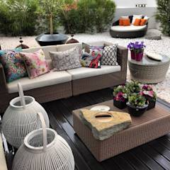 Moradia Estoril/Estoril Residence: Jardins modernos por 3L, Arquitectura e Remodelação de Interiores, Lda