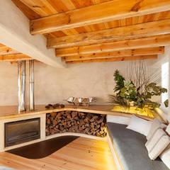 A JOIA d´AZOIA: Salas de estar campestres por pedro quintela studio