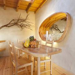 A JOIA d´AZOIA: Salas de jantar campestres por pedro quintela studio