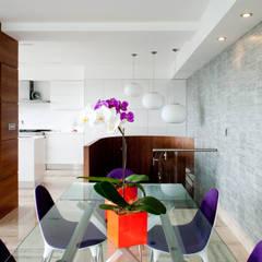 PH Altozano: Comedores de estilo moderno por VODO Arquitectos