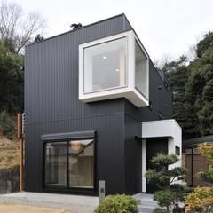 外観: 若山建築設計事務所が手掛けたtranslation missing: jp.style.家.eclectic家です。