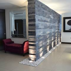 TREVINO CHABRAND Taller de Arquitectura: Salas de estilo moderno por TREVINO.CHABRAND / Taller de Arquitectura