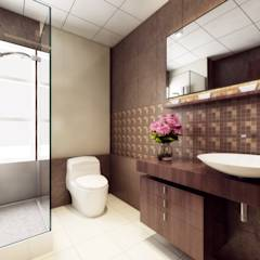 Singh Residence: modern Bathroom by Space Interface