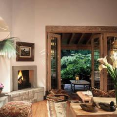 Casa R: Salas de estilo clásico por JR Arquitectos