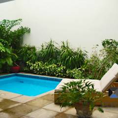 PORTO Arquitectura + Diseño de Interiores의 translation missing: kr.style.수영장.eclectic 수영장