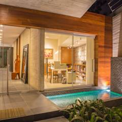 Espejo de Agua: Terrazas de estilo translation missing: co.style.terrazas.moderno por DLPS Arquitectos