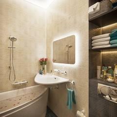 Элегантность эргономики: Ванные комнаты в translation missing: ru.style.Ванные-комнаты.modern. Автор - Lotos Design