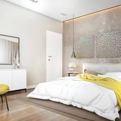 Derya Bilgen - bedroom: modern tarz Yatak Odası