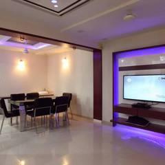 YOGESH KATARIA-VALSAD: modern Dining room by PSQUAREDESIGNS
