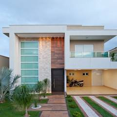 translation missing: id.style.rumah.minimalis Rumah by Livia Martins Arquitetura e Interiores