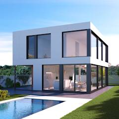 Casas de estilo moderno por NUÑO ARQUITECTOS