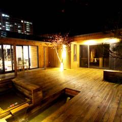 대전 하기동 단독주택: 비온후풍경 ㅣ J2H Architects의 translation missing: kr.style.정원.modern 정원