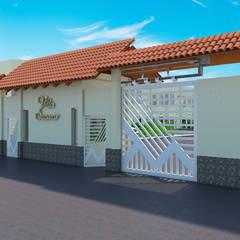 Proyecto Villa Saamar: Casas de estilo moderno por Arq. Susan W. Jhayde