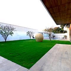 Peacock and the Woods : modern Garden by Aijaz Hakim Architect [AHA]