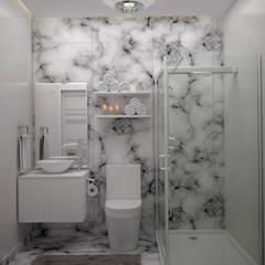 Diseño de Baño Pequeño: Baños de estilo moderno por Gabriela Afonso