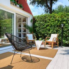 Casa di Silvana: Giardino in stile in stile Minimalista di giovannoni studio & design