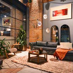 Showroom: Salas de estilo moderno por The Blue House