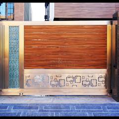 Gate Detail: modern Windows & doors by RAVI - NUPUR ARCHITECTS