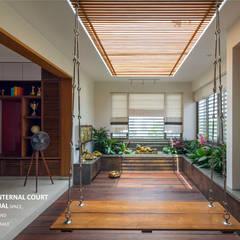 Internal Court: asian Garden by 4site architects