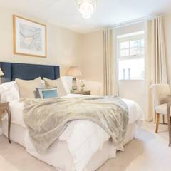 Wykeham Court by WN Interiors: modern Bedroom by WN Interiors of Poole in Dorset