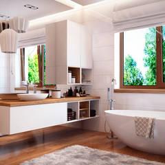 WHITE TREE WC: Ванные комнаты в translation missing: ru.style.Ванные-комнаты.skandinavskiy. Автор - Art-i-Chok