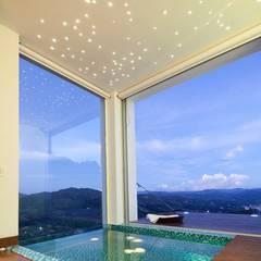 CASA BARRENECHE: Baños de estilo minimalista por LIGHTEN
