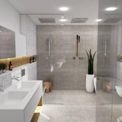 Salle de bain - Strasbourg: Salle de bain de style de style Scandinave ...