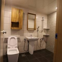 반지대동 그린파크 : 디자인세븐의 translation missing: kr.style.욕실.industrial 욕실