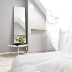 FOORMA Pracownia Architektury Wnętrz의 translation missing: kr.style.침실.modern 침실