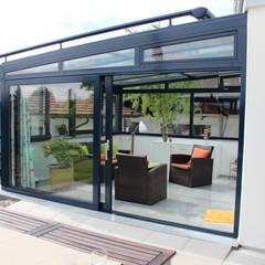 Wintergarten Wipro Serra: moderner Wintergarten von Eco Wintergärten