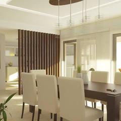 translation missing: id.style.ruang-makan.minimalis Ruang Makan by Casa Meva