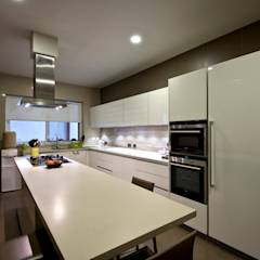 Private Residence, Koregaon Park, Pune: modern Kitchen by Chaney Architects