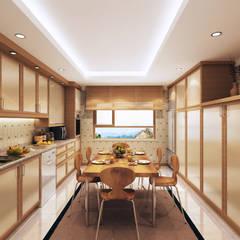 Koloniale keuken idee n en inspiratie homify - Koloniale stijl kantoor ...