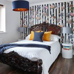Virginia Water Apartment - Surrey: modern Bedroom by Bhavin Taylor Design