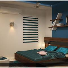 Contemporary Interior Design: modern Bedroom by Premdas Krishna