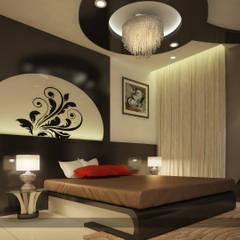 Impressive contemporary style: modern Bedroom by Premdas Krishna