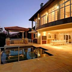 House at Ballito: country Pool by TJ Architects