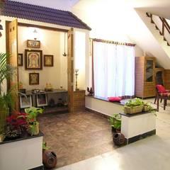 pooja room: modern Dining room by Ansari Architects