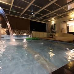 Terrace Dip Pool: modern Pool by Mind Studio