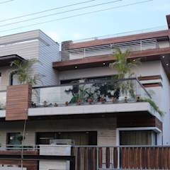 Front Design: modern Houses by Aayam Consultants