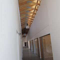 Plaza de Peaje Tomeco : Edificios de Oficinas de estilo translation missing: cl.style.edificios-de-oficinas.colonial por +ARQ