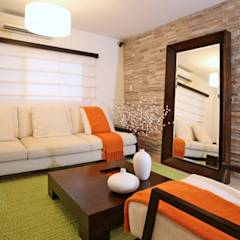 translation missing: id.style.ruang-keluarga.modern Ruang Keluarga by Objetos DAC